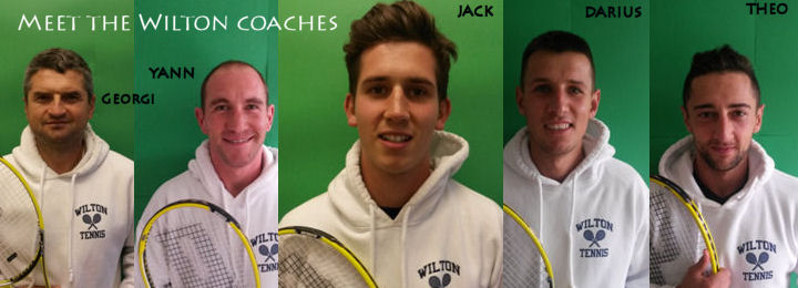 Meet our coaches - Jack, Yann, Darius, Theo and Georgi